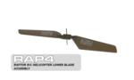 RAP4 Raptor R/C Helicopter Lower Blade Assembly