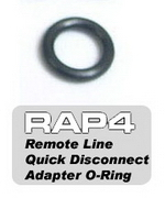 Remote Line Quick Disconnect Adapter O-ring