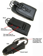 Walkie Talkie/Mini Phone and Radio Pouch