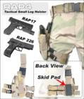 U.S. SWAT Tactical Leg Holster (Right Hand - Small) (Tiger Strip