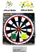 .43 Cal Target Balls� System for Combat-x