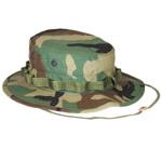 Military Boonie Hat (Woodland) (Large Size)